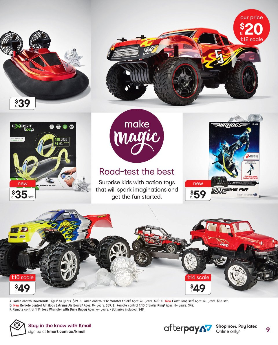 Kmart catalogue  - 6.12.2018 - 19.12.2018. Page 9.