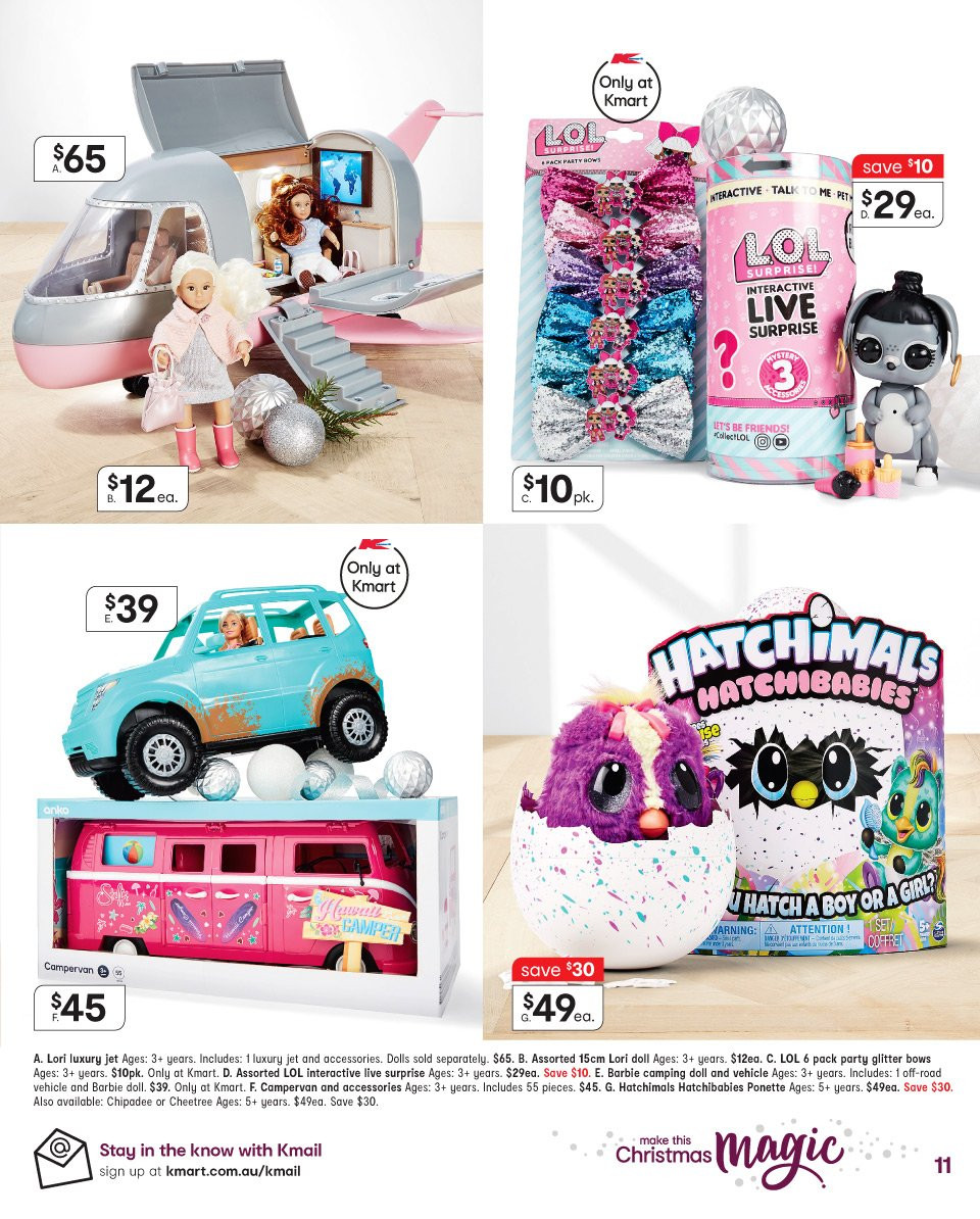 Kmart catalogue  - 6.12.2018 - 19.12.2018. Page 11.