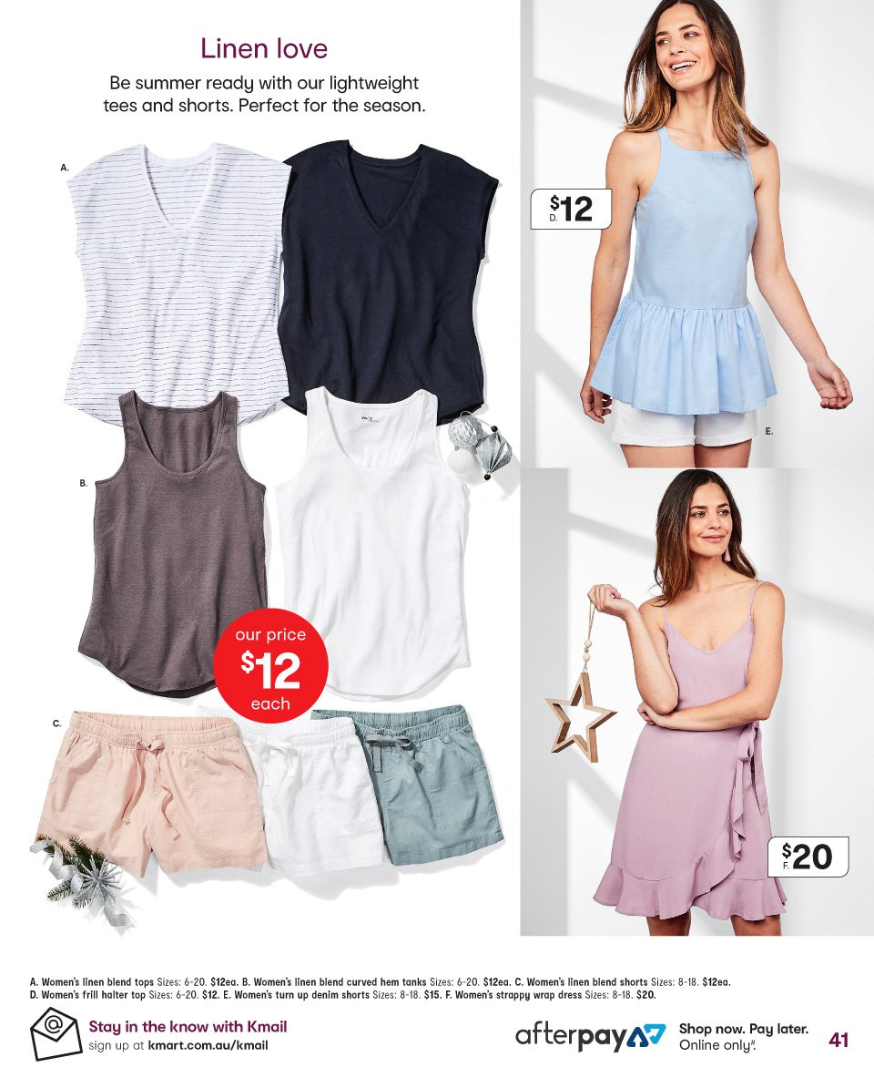 Kmart catalogue  - 6.12.2018 - 19.12.2018. Page 41.