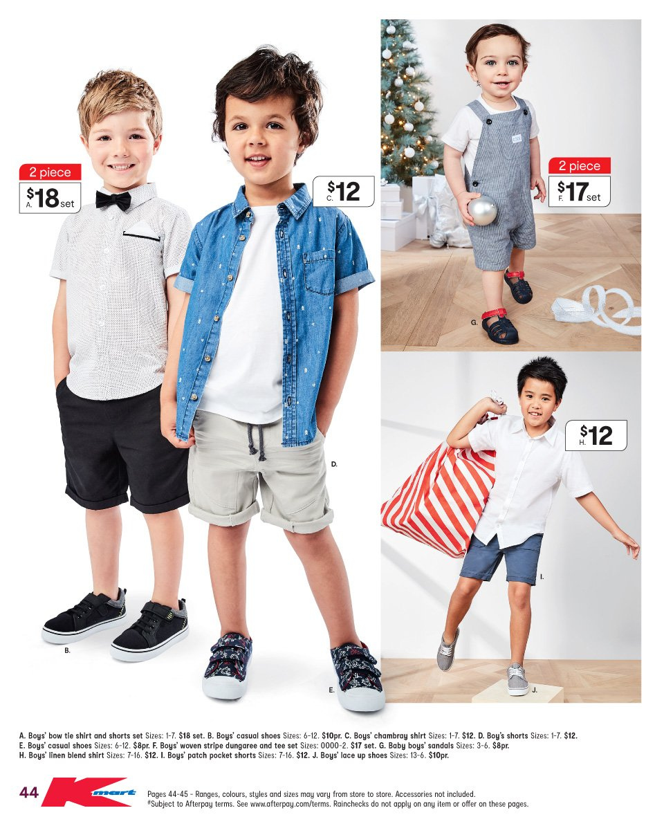 Kmart catalogue  - 6.12.2018 - 19.12.2018. Page 44.