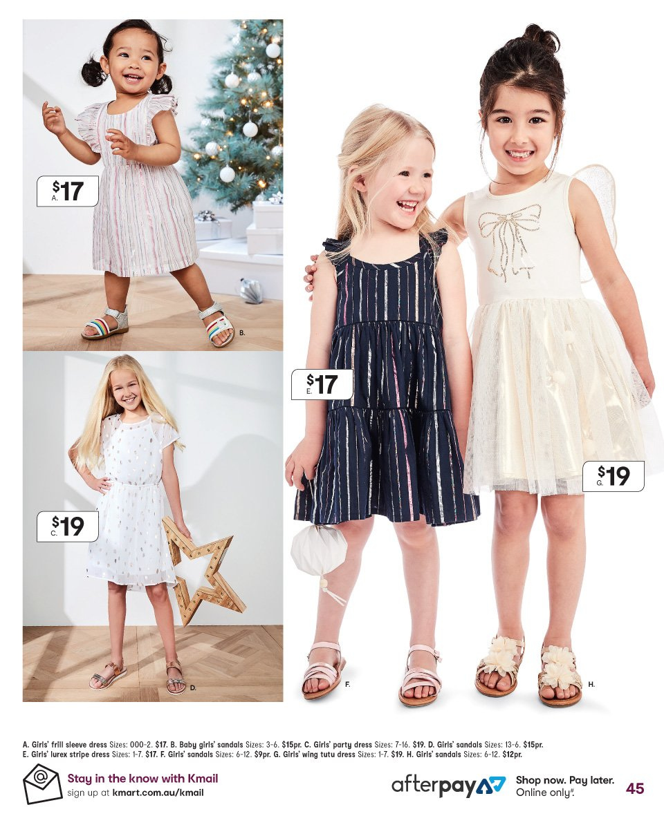 Kmart catalogue  - 6.12.2018 - 19.12.2018. Page 45.