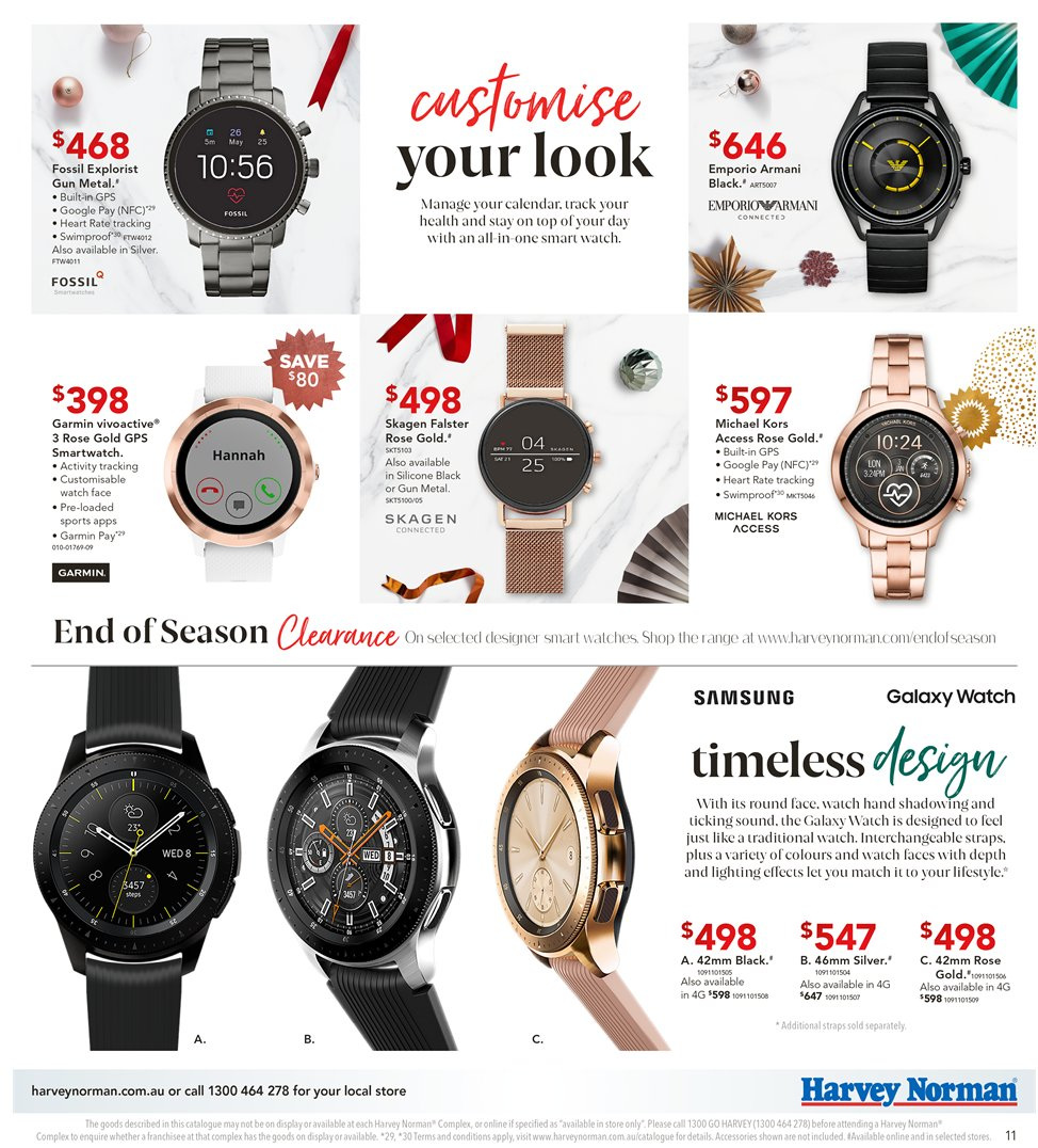 Harvey Norman Catalogue And Weekly Specials 7 12 2018 27 12 2018