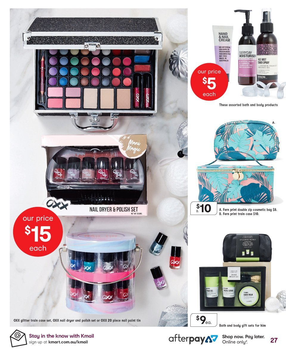 Kmart catalogue  - 13.12.2018 - 24.12.2018. Page 27.