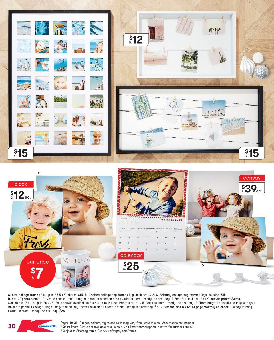 Kmart catalogue  - 13.12.2018 - 24.12.2018. Page 30.