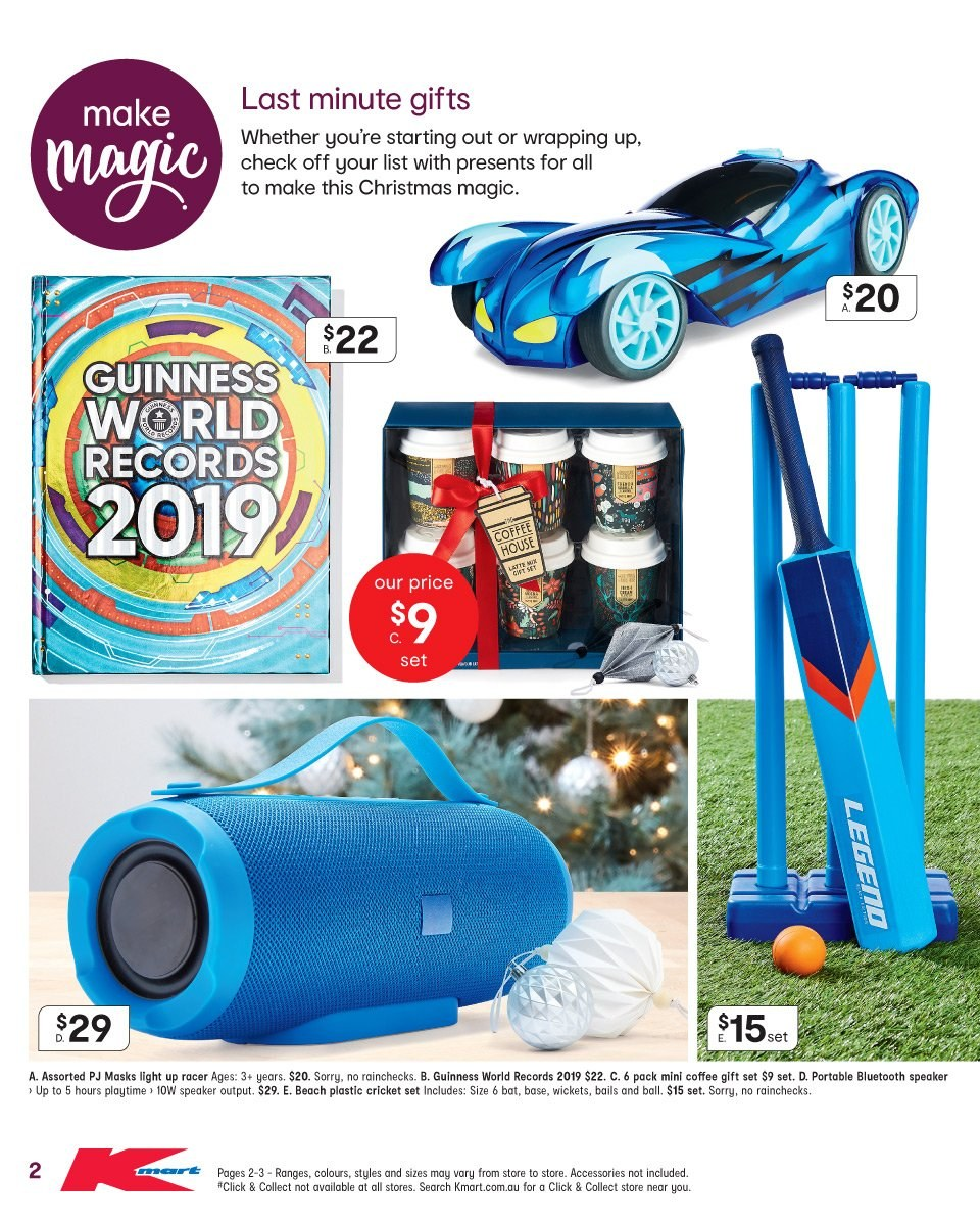 Kmart catalogue  - 19.12.2018 - 24.12.2018. Page 2.