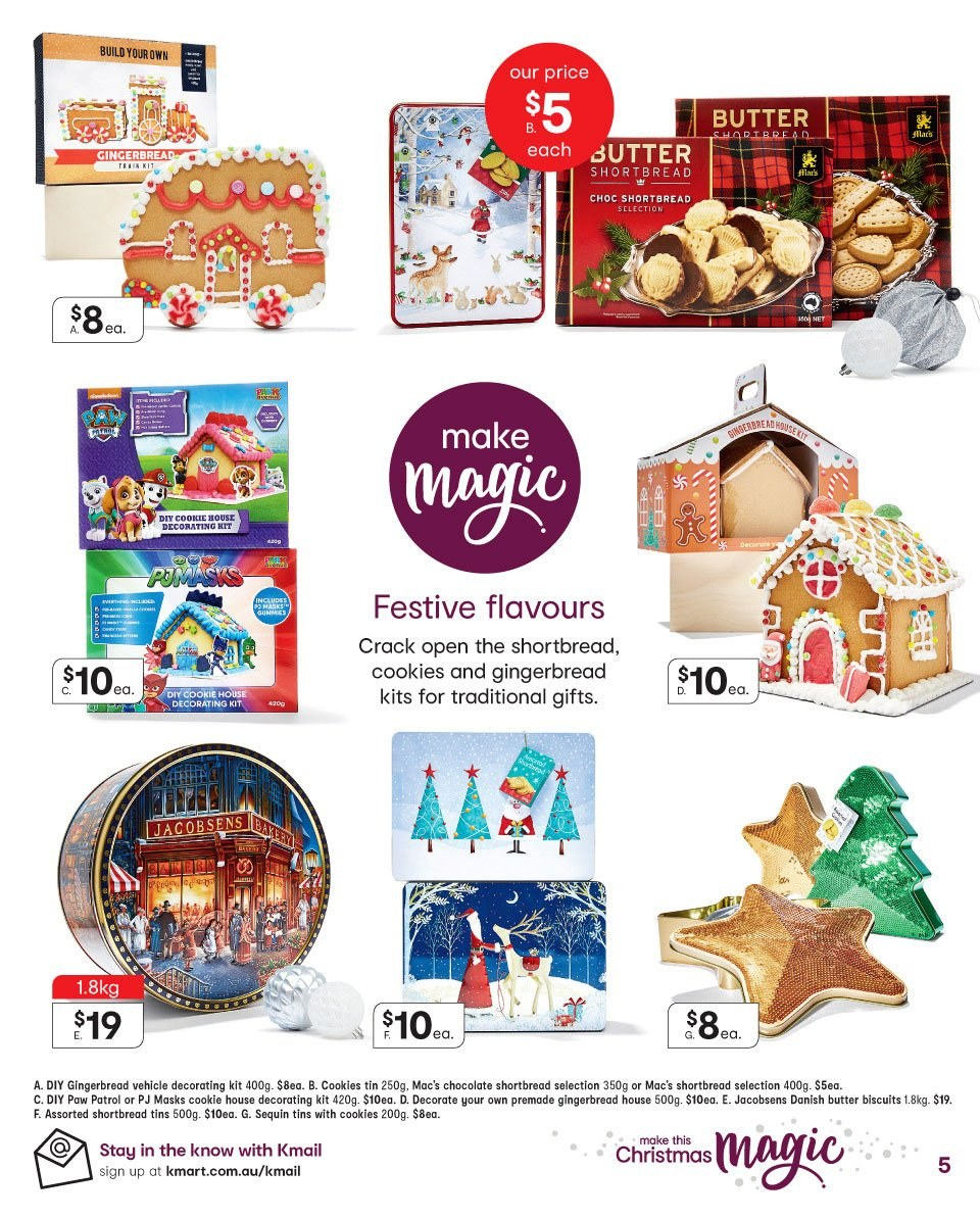 Kmart catalogue  - 19.12.2018 - 24.12.2018. Page 5.