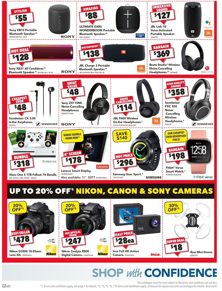 Harvey Norman catalogue and weekly specials 24 12 2018