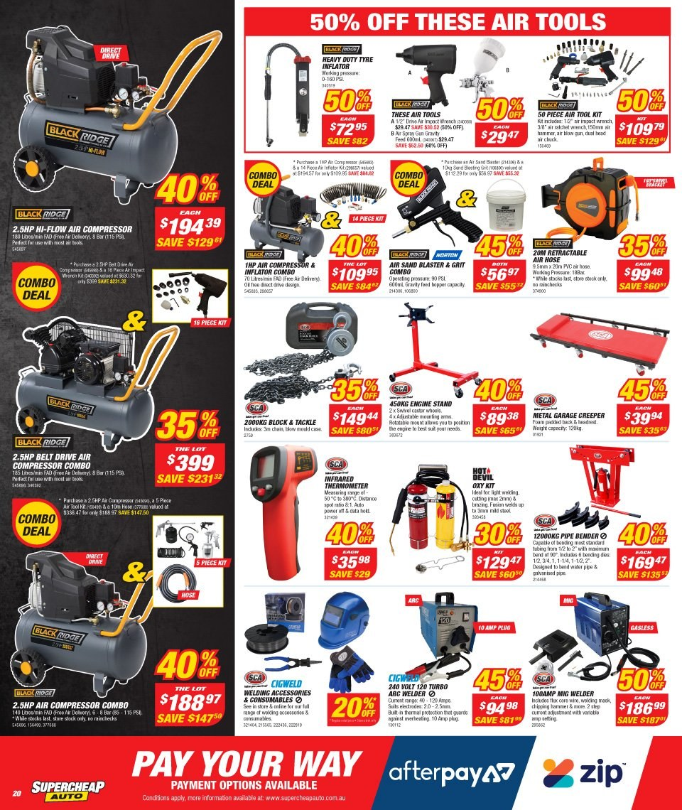 Supercheap Auto catalogue and weekly specials 27 12 2018