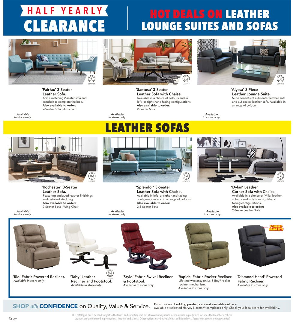 Harvey Norman Catalogue And Weekly Specials 1.1.2019 - 20.1.2019