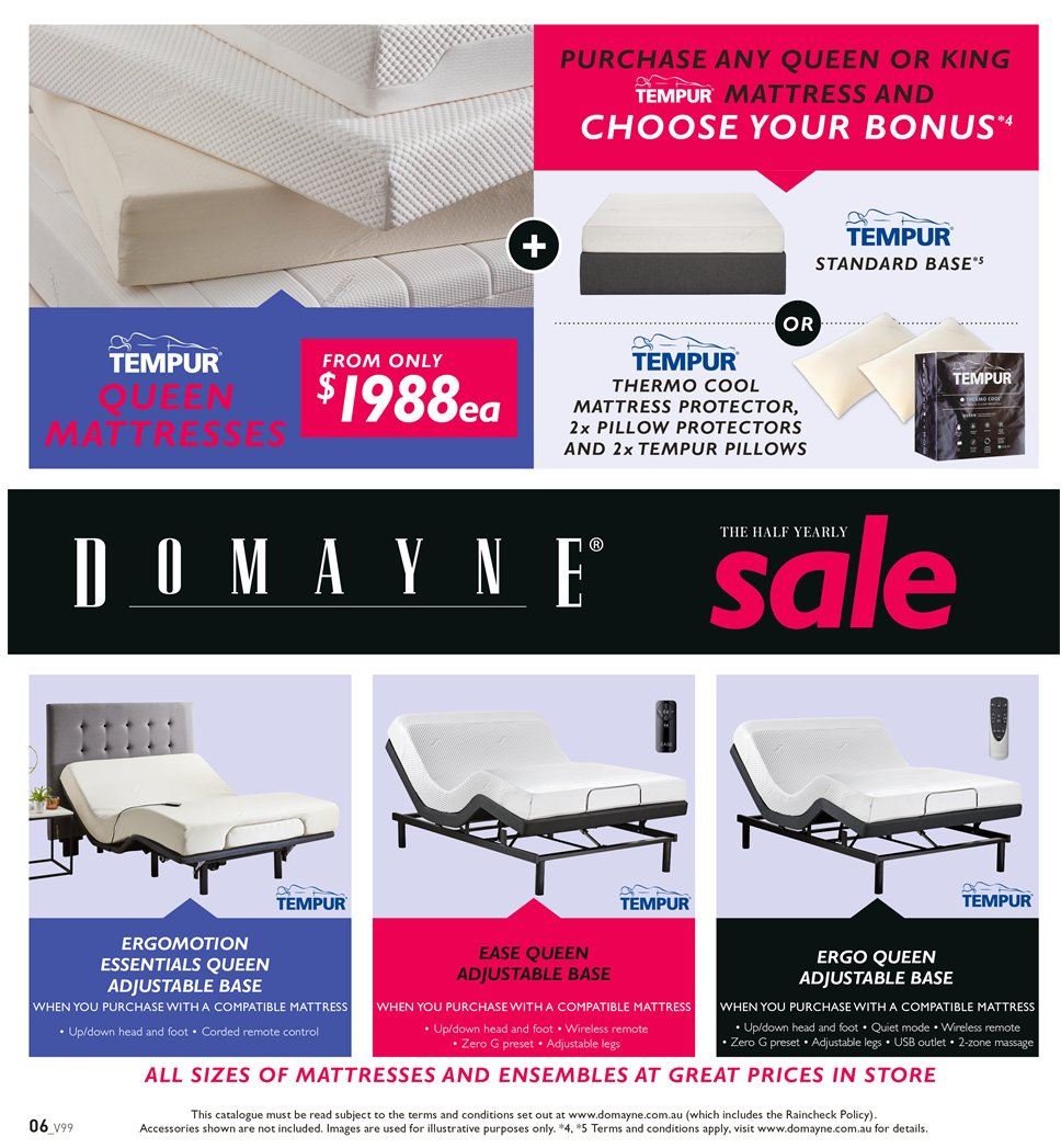 sale retailer 9cdc9 a4011 Domayne catalogue and weekly specials 1.1.2019 - 20.1.2019 ...