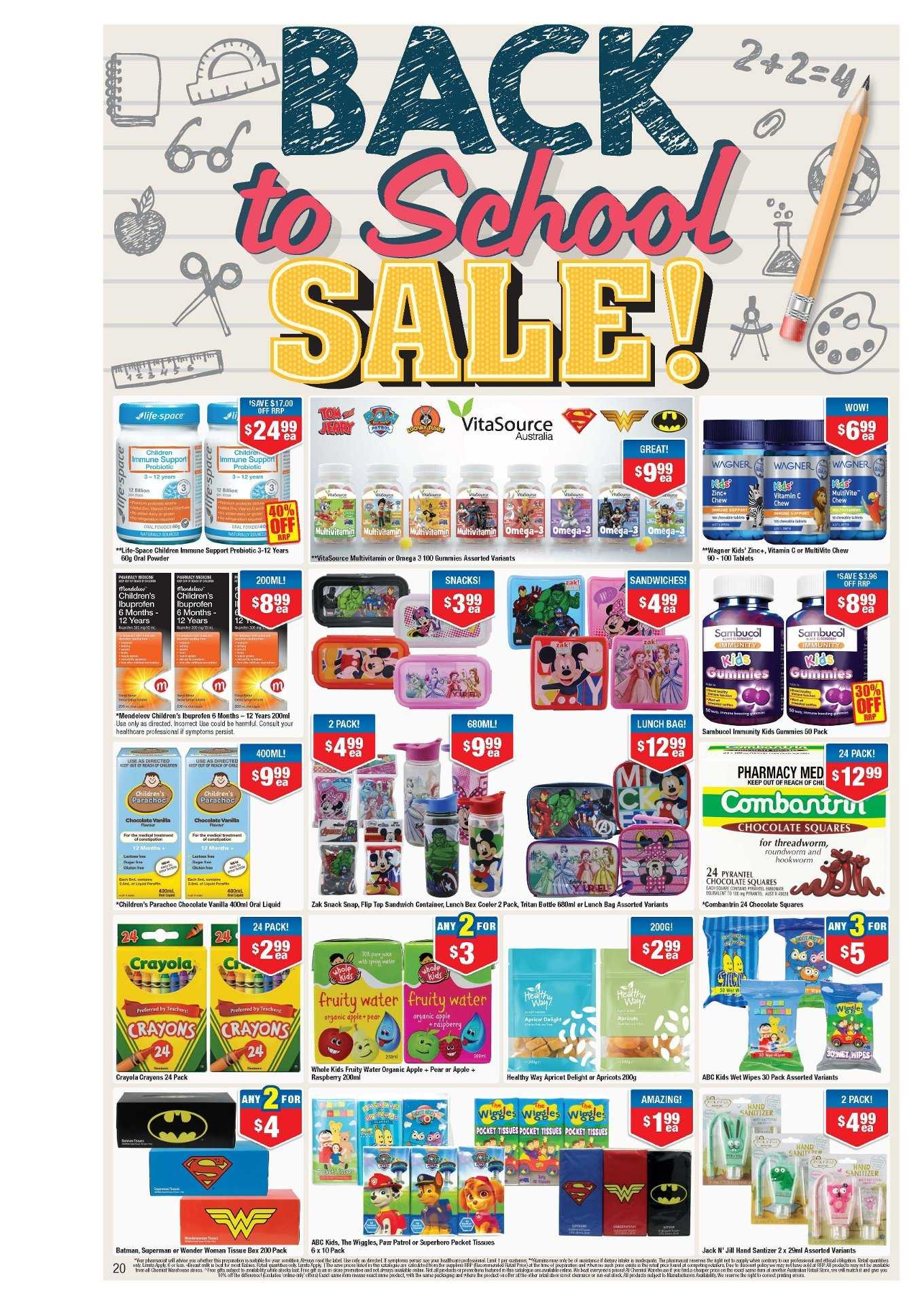 Chemist Warehouse catalogue and weekly specials 1 1 2019