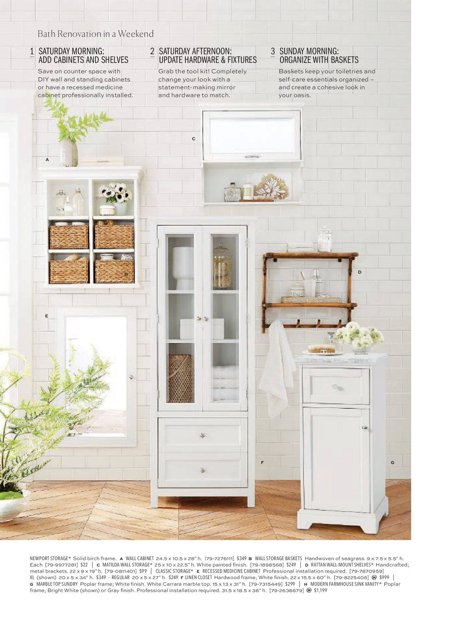 Pottery Barn Catalogue   4.1.2019   21.1.2019   Sales Products   Basket