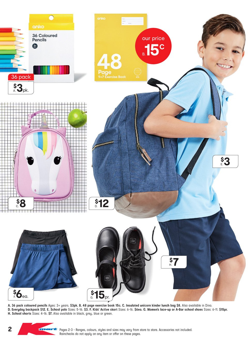 Kmart catalogue  - 10.1.2019 - 30.1.2019. Page 2.