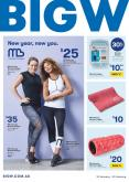 BIG W Catalogue - 10.1.2019 - 23.1.2019 - Sales products - foam, leggings, tee, towel, gym.