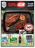 IGA Catalogue - 16.1.2019 - 22.1.2019 - Sales products - beef meat, dishwasher, schweppes, tuna, pepsi, olive oil, steak.