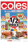 Coles Catalogue - 16.1.2019 - 22.1.2019 - Sales products - aussie, crackers, gra, lamb meat, potato chips, pringles, protein, oven, chips, barbecue.