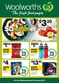 Woolworths Catalogue - 16.1.2019 - 22.1.2019 - Sales products - corn, corn chips, doritos, nectarines, schweppes, powerade, pepsi, chips, cheese.