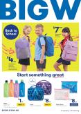 BIG W Catalogue - 17.1.2019 - 30.1.2019 - Sales products - backpack, bag, bottle, stationery set.