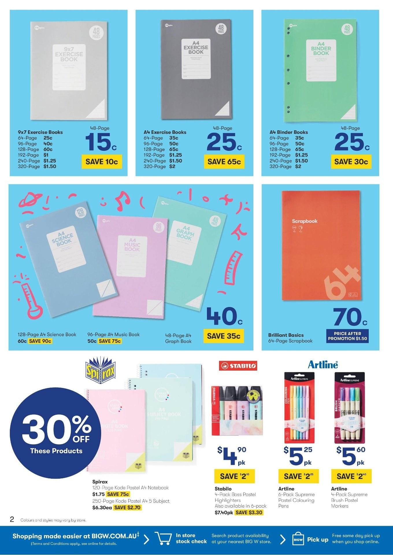 BIG W catalogue and weekly specials 17 1 2019 - 30 1 2019