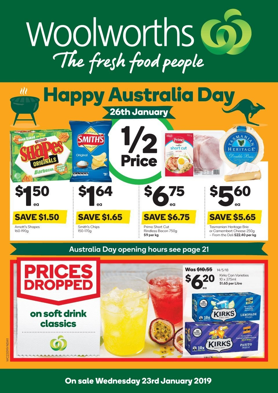 Woolworths catalogue and weekly specials 23 1 2019 - 29 1