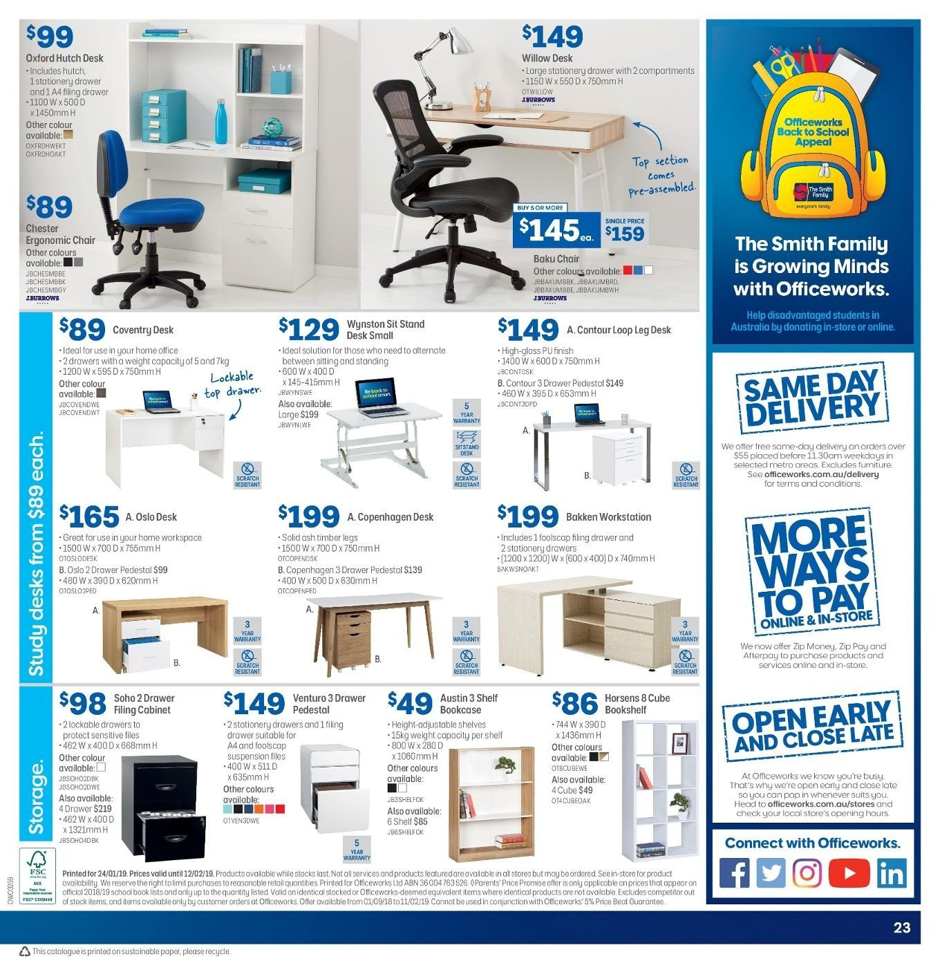 Officeworks Catalogue Jun 2019 Page 28 - Www imagez co