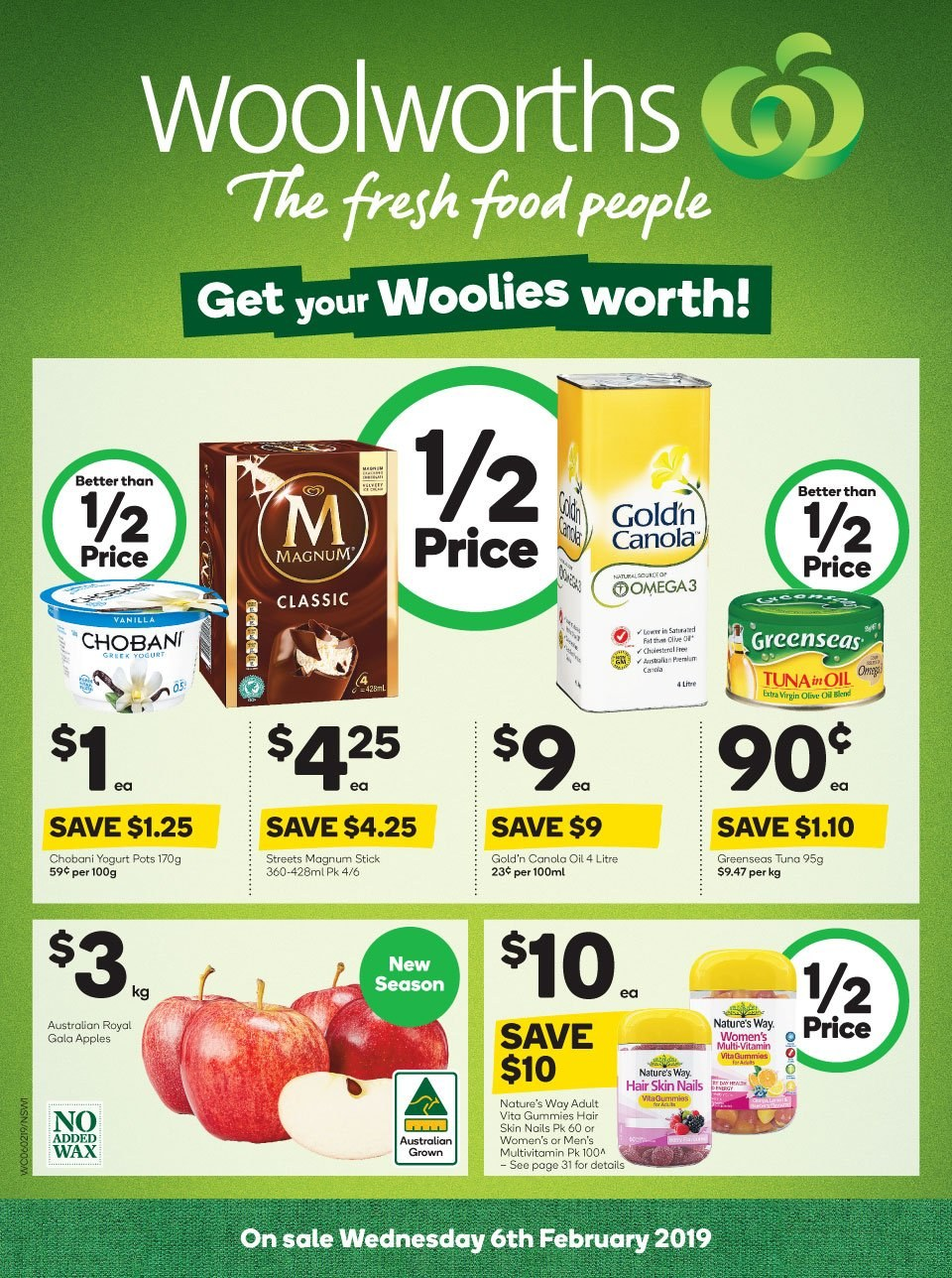 Woolworths catalogue and weekly specials 6 2 2019 - 12 2
