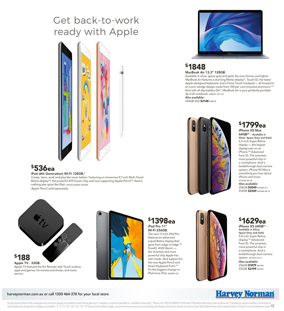 Harvey Norman catalogue and weekly specials 8 2 2019 - 24 2