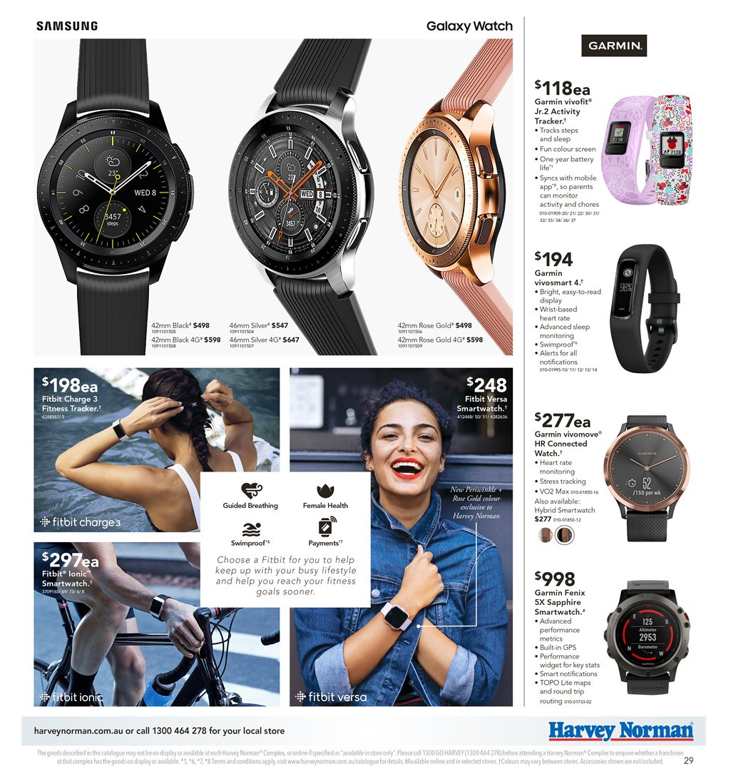 Harvey Norman Catalogue And Weekly Specials 8 2 2019 24 2 2019