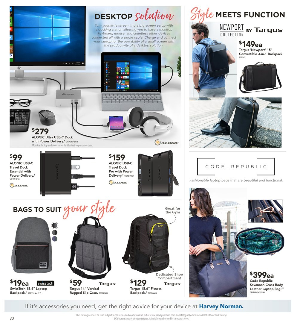 Harvey Norman Catalogue - 8.2.2019 - 24.2.2019 - Sales products -  accessories 5176bb0153