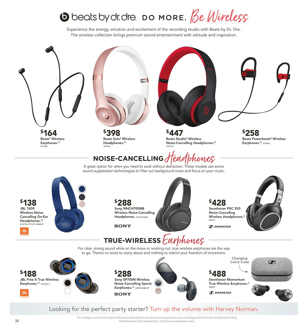 d2bad17e7d5 Harvey Norman Catalogue - 8.2.2019 - 24.2.2019 - Sales products - sony
