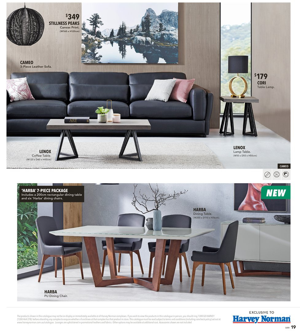 Harvey norman catalogue 8 2 2019 3 3 2019 sales products coffee