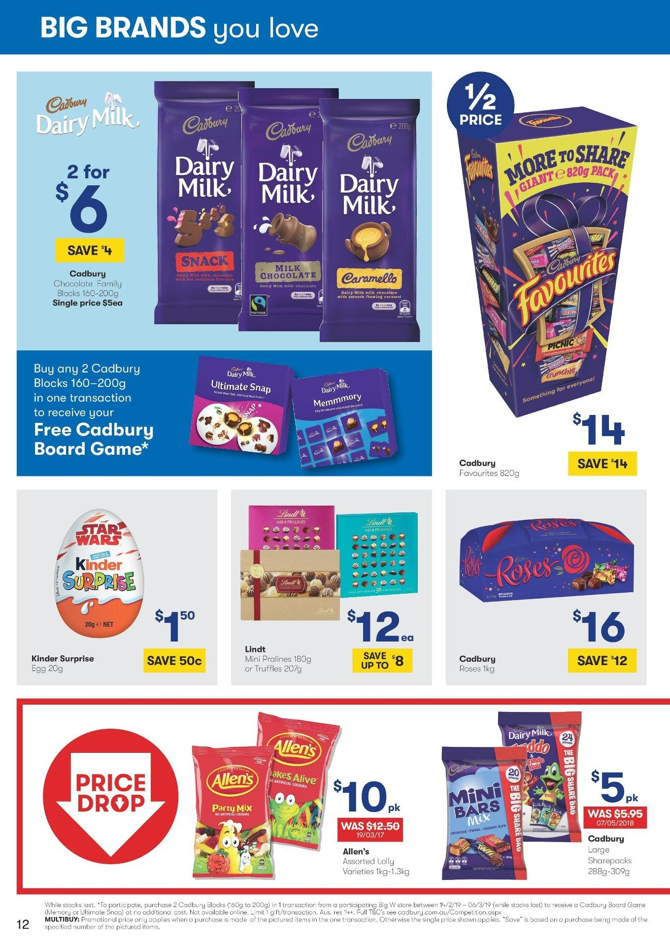 BIG W catalogue and weekly specials 14 2 2019 - 27 2 2019