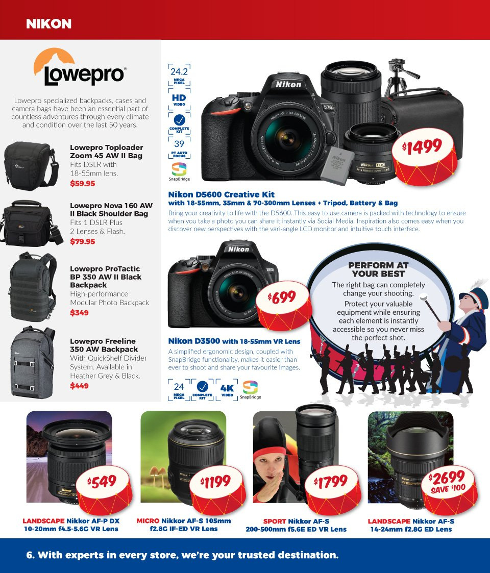 Camera House catalogue and weekly specials 25 2 2019 - 31 3