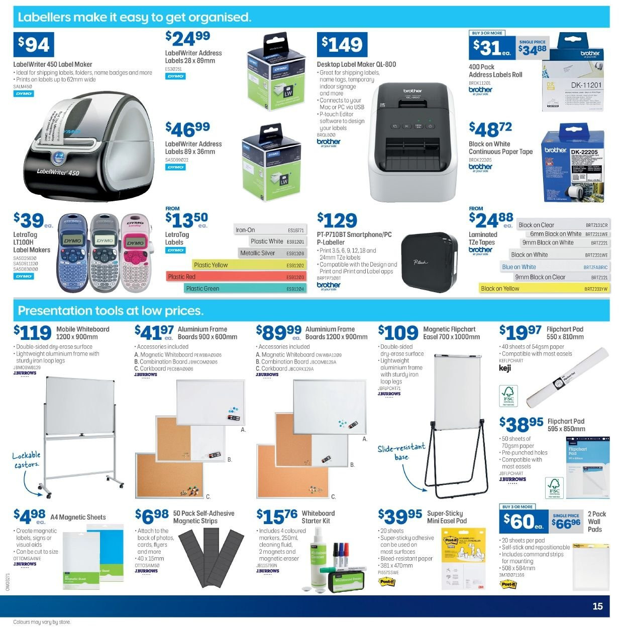 Officeworks catalogue and weekly specials 28 2 2019 - 20 3 2019 | Au