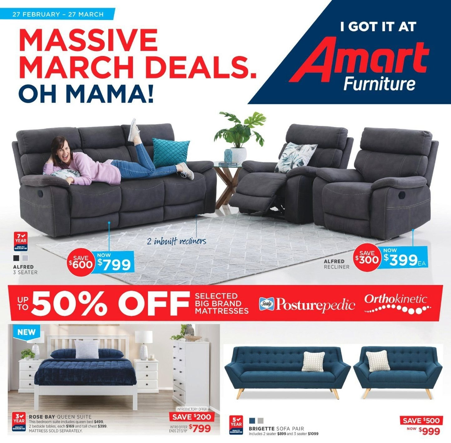 Astonishing Amart Furniture Catalogue And Weekly Specials 27 2 2019 Gamerscity Chair Design For Home Gamerscityorg