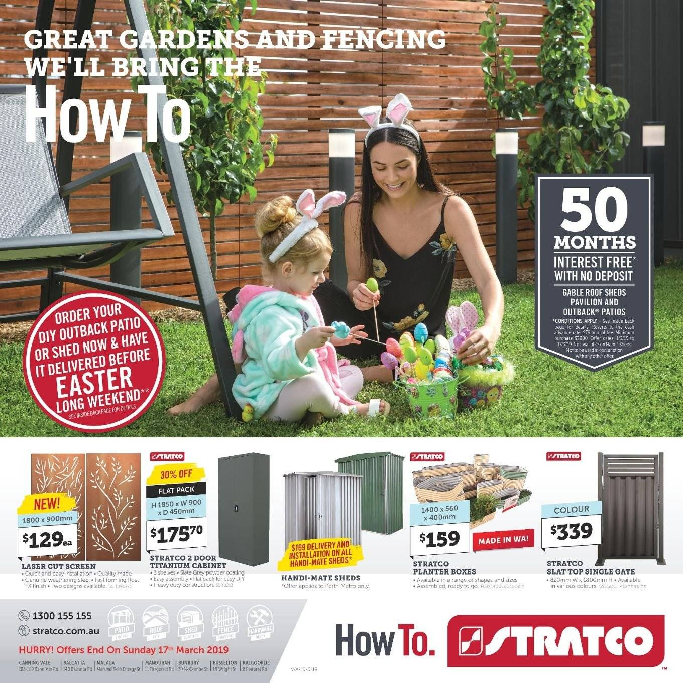 Stratco catalogue and weekly specials 1 3 2019 - 17 3 2019