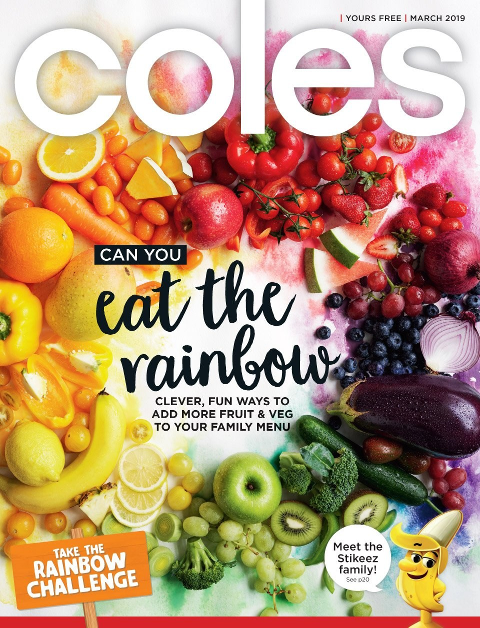 Coles catalogue  - 1.3.2019 - 31.3.2019. Page 1.