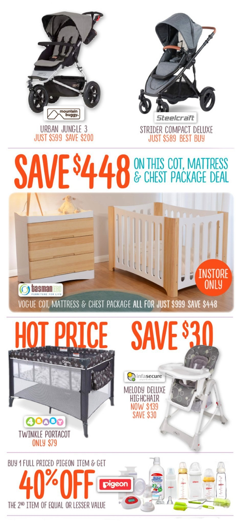 Baby Bunting Catalogue And Weekly Specials 632019 1232019 Au