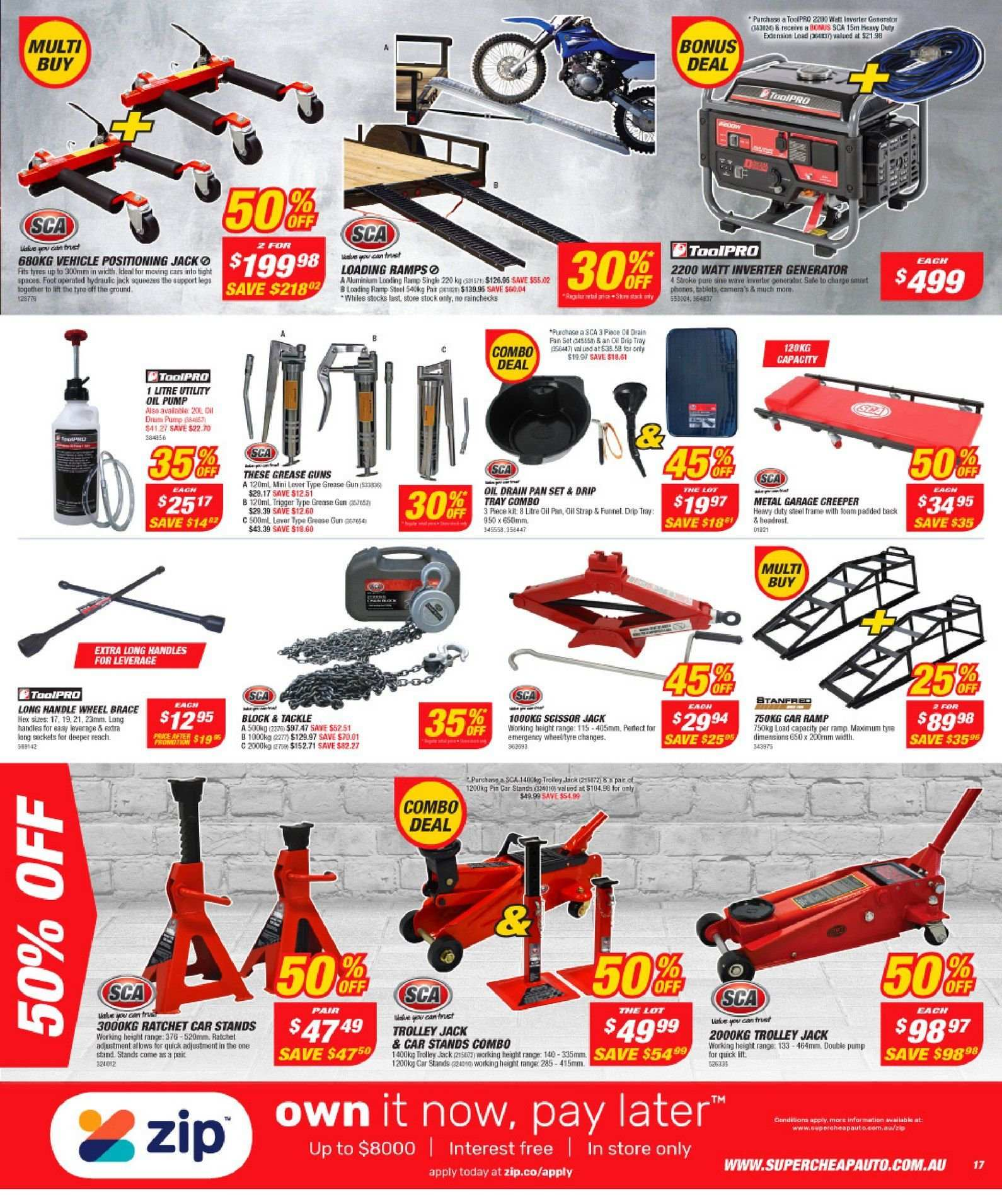 Supercheap Auto catalogue and weekly specials 13 3 2019