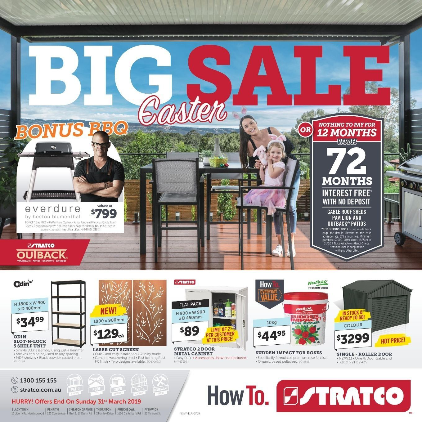 Stratco catalogue and weekly specials 15 3 2019 - 31 3 2019 | Au