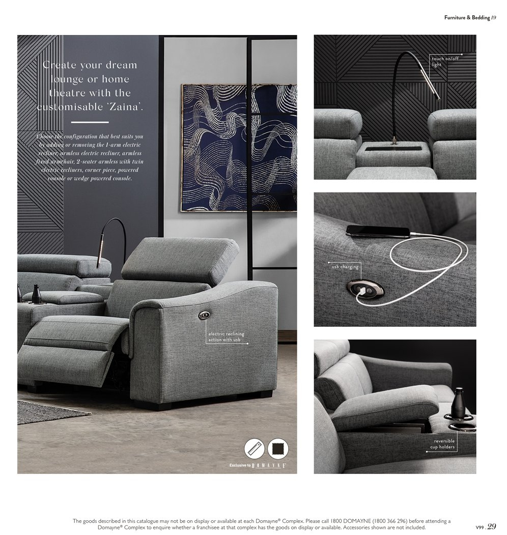 Domayne Catalogue   15.3.2019   7.4.2019   Sales Products   Bedding,