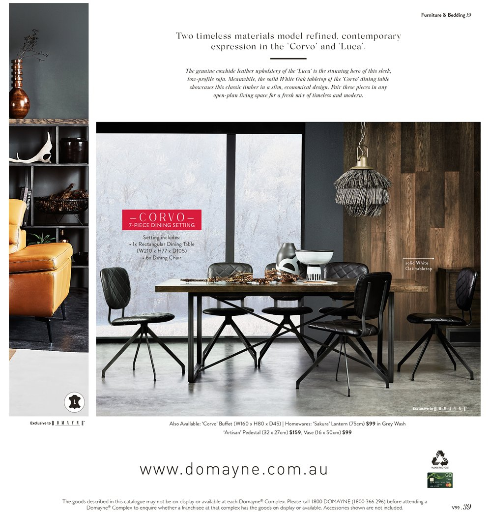 Domayne Catalogue And Weekly Specials 15 3 2019 7 4