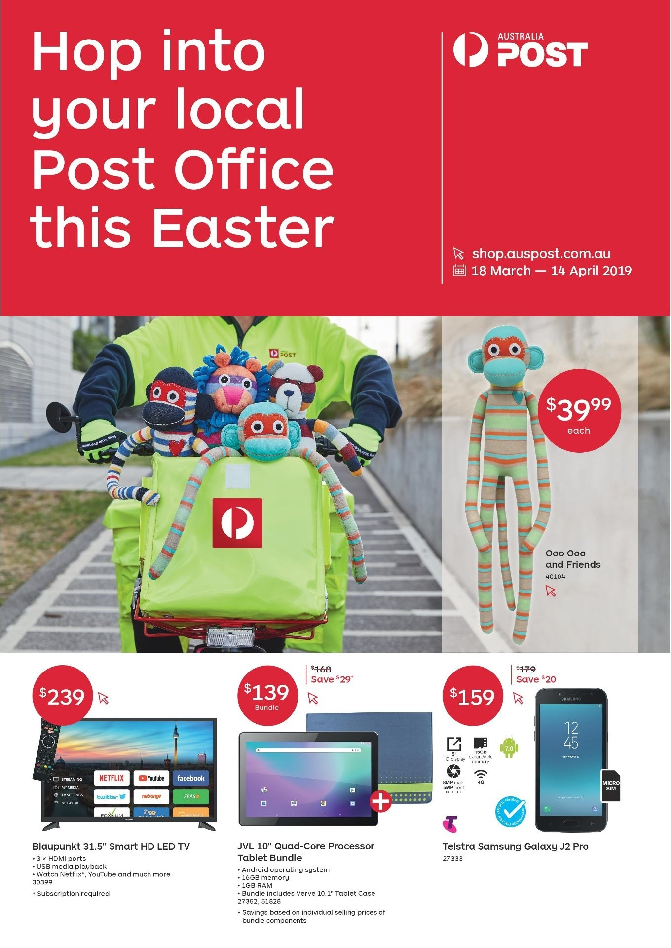 Australia Post catalogue and weekly specials 18 3 2019