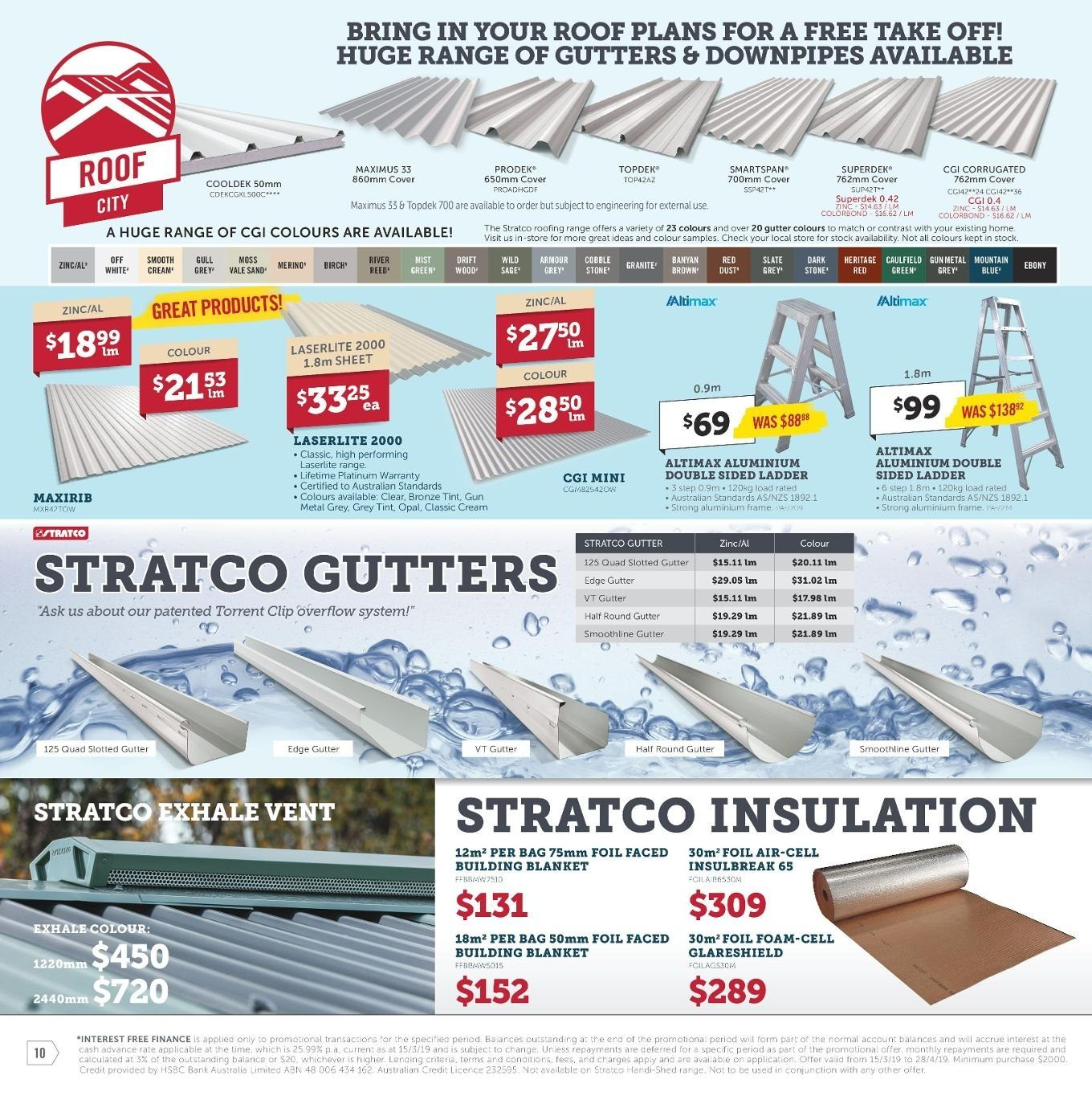 Stratco catalogue and weekly specials 15 3 2019 - 28 4 2019
