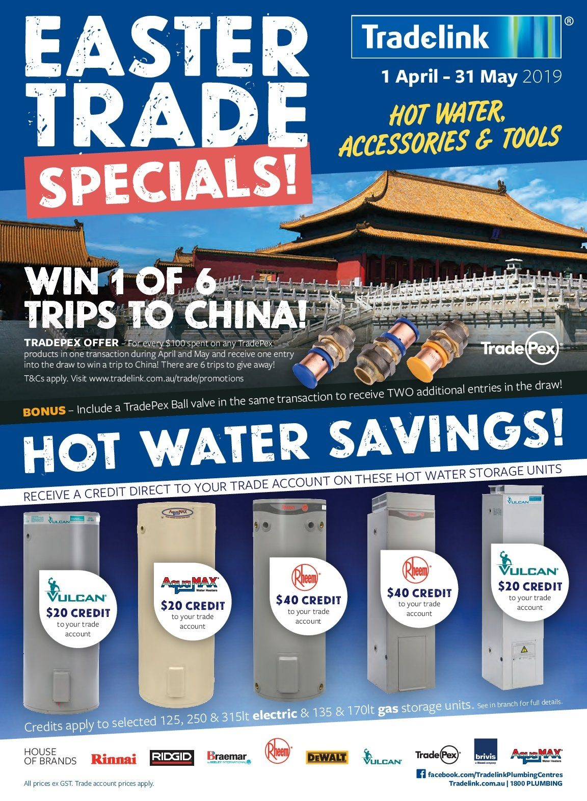 Tradelink Catalogue And Weekly Specials 1 4 2019 31 5 2019 Au