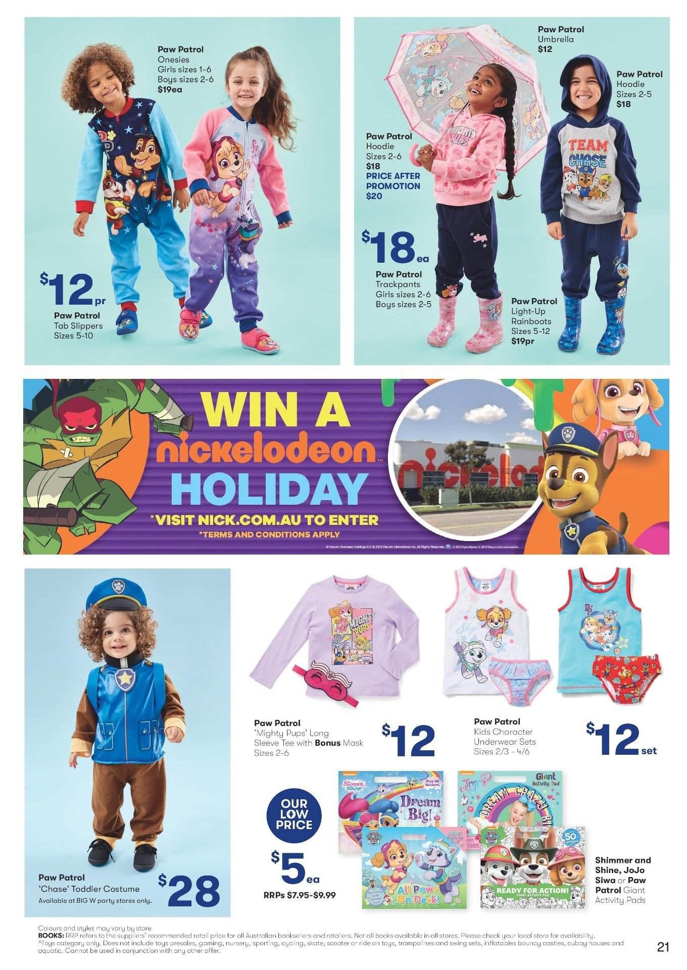 BIG W catalogue and weekly specials 4 4 2019 - 17 4 2019