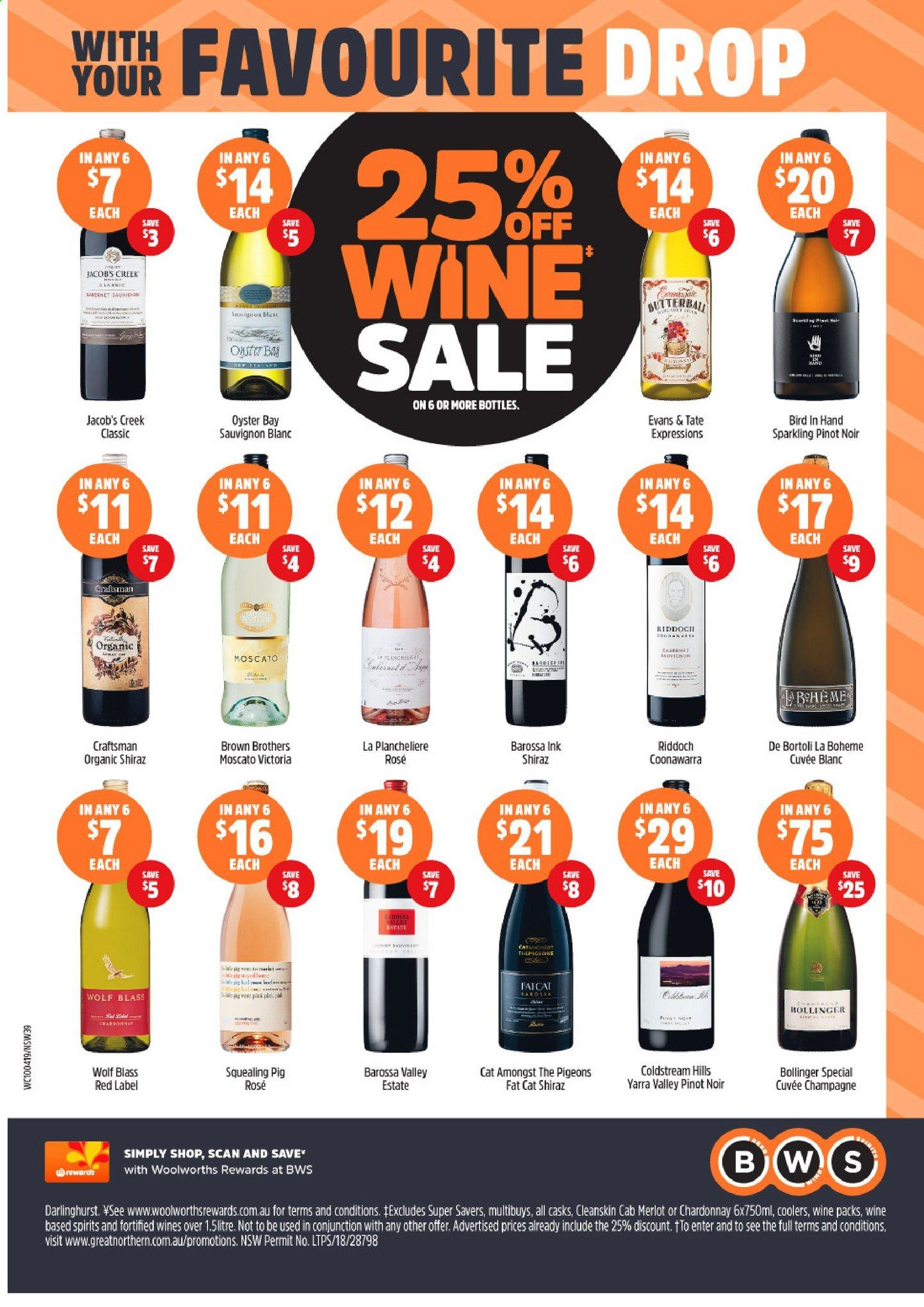 BWS catalogue and weekly specials 10 4 2019 - 16 4 2019   Au