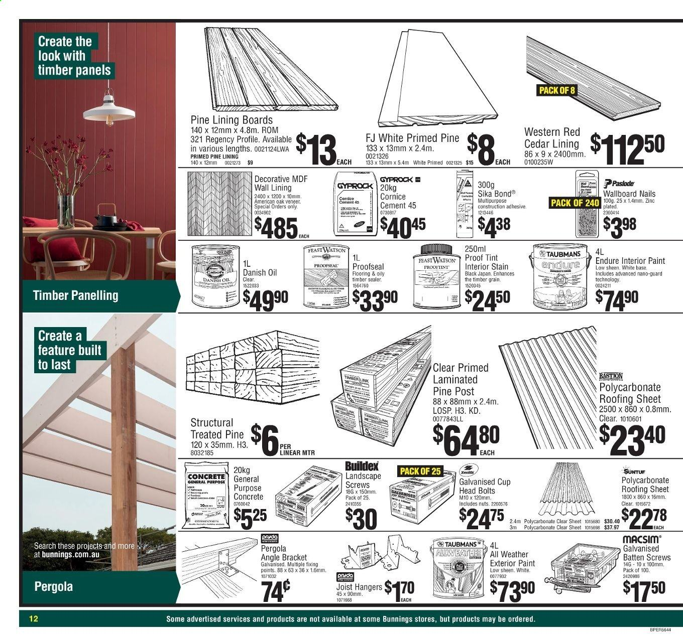Bunnings Warehouse catalogue and weekly specials | Au-catalogues com
