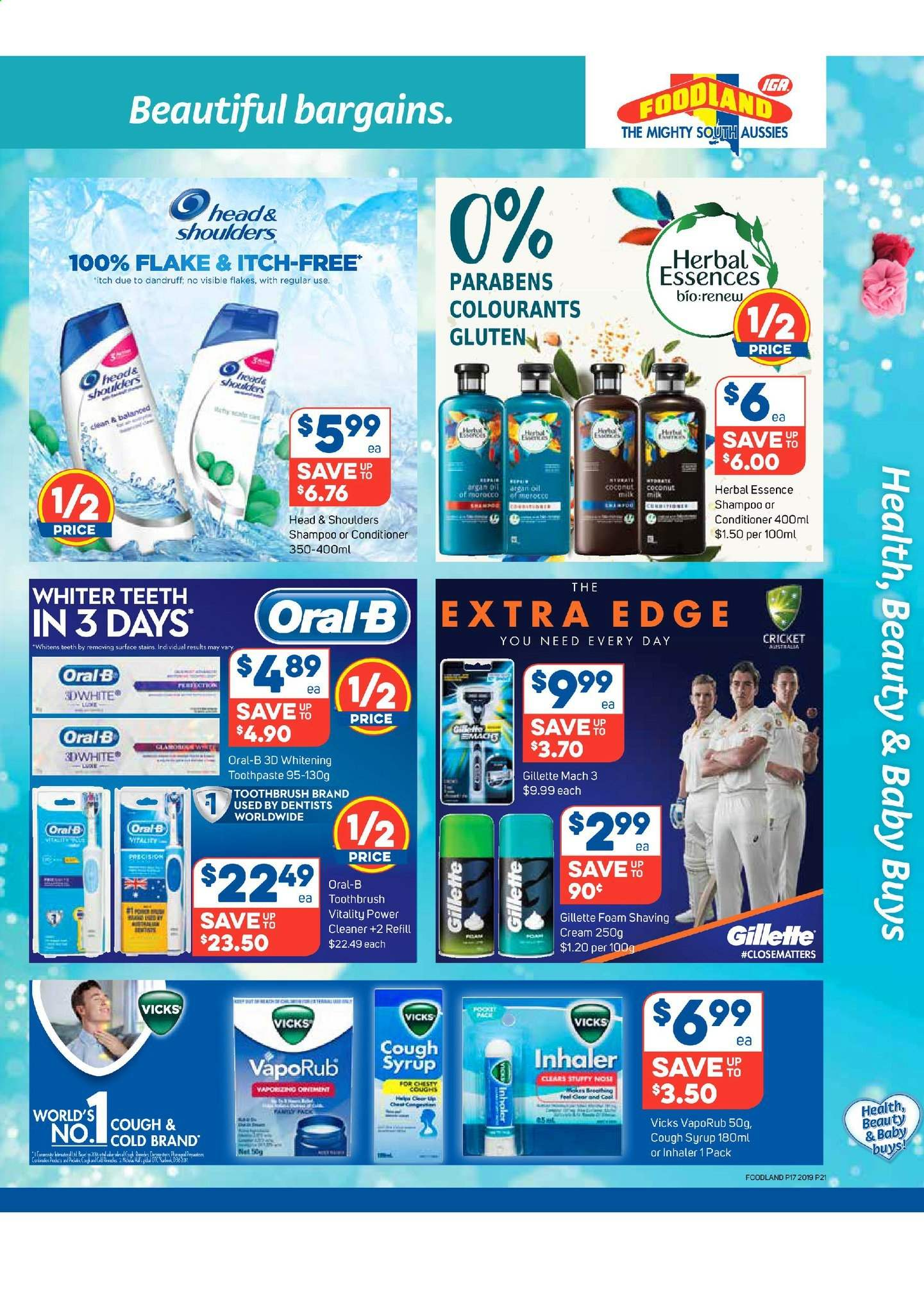 Foodland catalogue and weekly specials 24 4 2019 - 30 4 2019 | Au