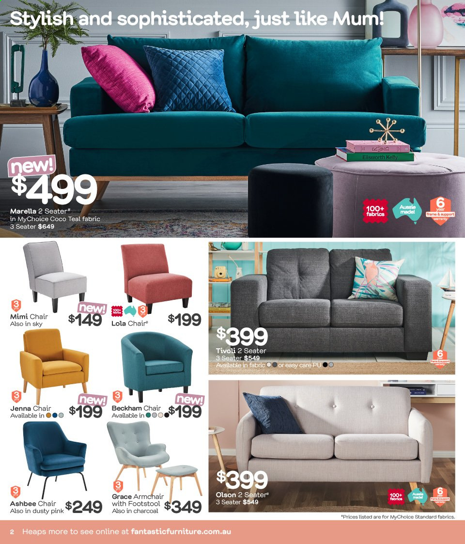 Fantastic Furniture Catalogue And Weekly Specials 29 4 2019 2 6
